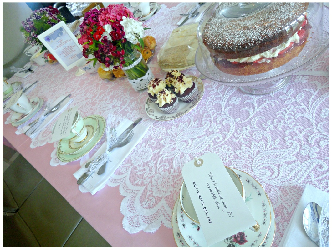Vintage tea party at Waterford Castle Lodges