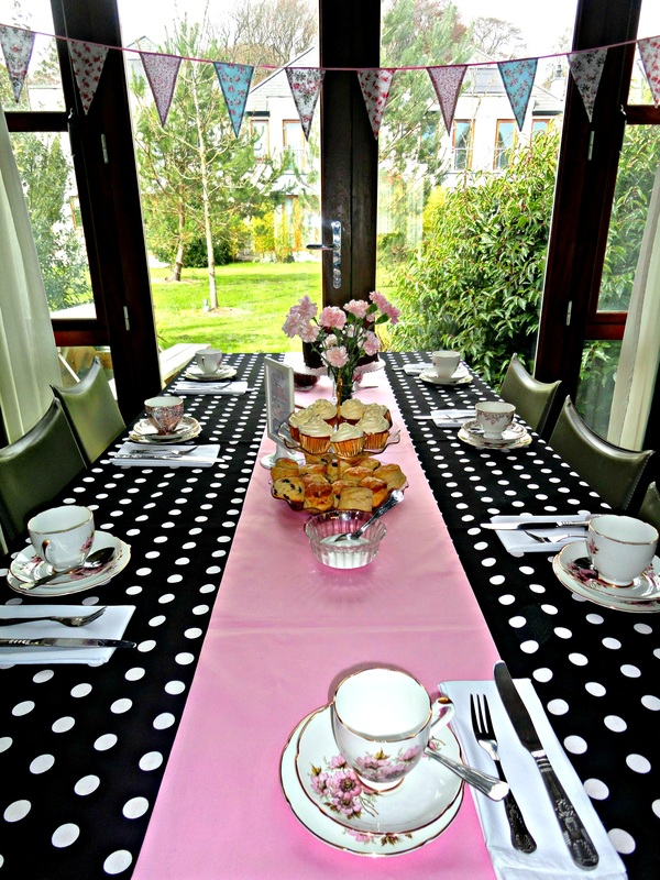 1950s inspired afternoon tea party Waterford