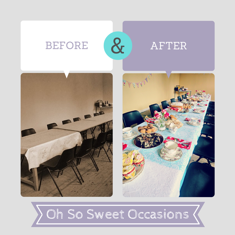 Afternoon tea hen party in Tipperary before and after photos