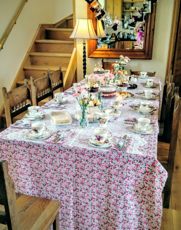 Tea party at the Coach House Inistigoe
