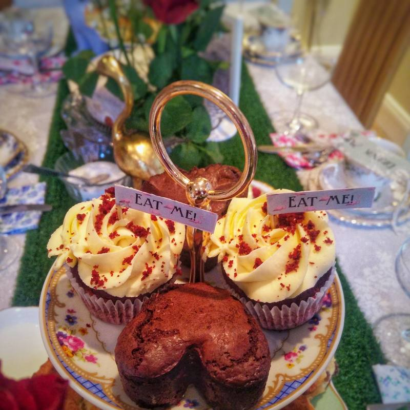 Mad Hatters Afternoon Tea Party Baby Shower