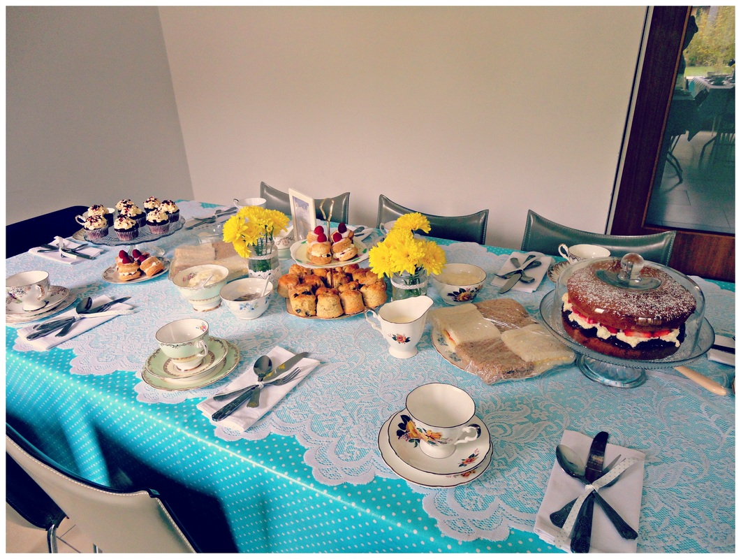 1950s afternoon tea party at Waterford Castle Lodges