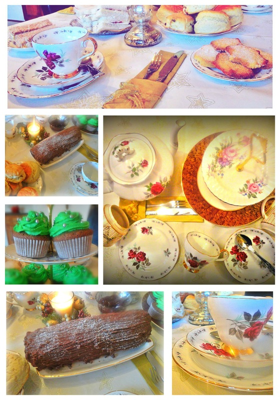 A very vintage Christmas tea party by Oh So Sweet Occasions