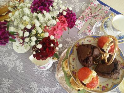 Afternoon tea party for a hen party in Kilkenny