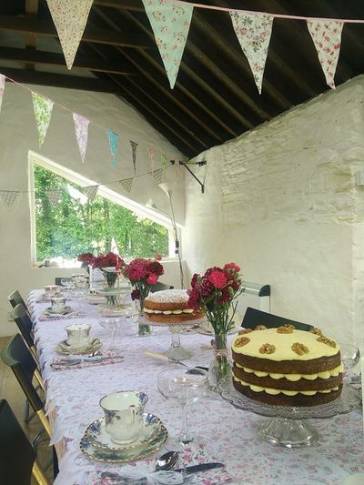 Afternoon tea party in The Old Deanery Wexford