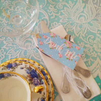 DIY afternoon tea party